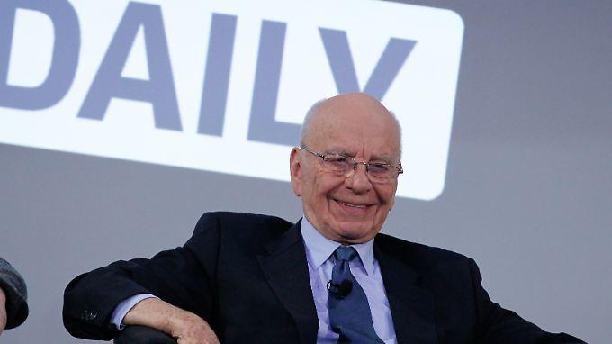 """Rupert Murdoch: """"The Daily"""" wird ein Erfolg."""