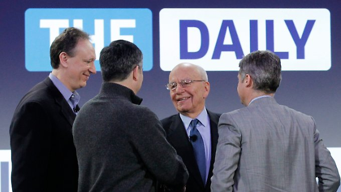 """The Daily"" in allen Medienformaten: Murdoch startet iPad-Zeitung"