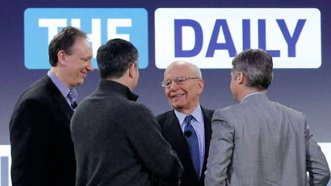 """""""The Daily"""" in allen Medienformaten: Murdoch startet iPad-Zeitung"""