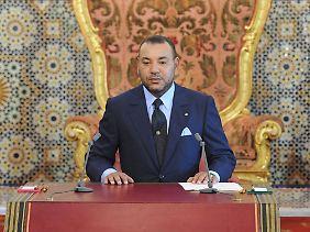 In Marokko regiert König Mohammed VI. noch unangefochten.