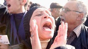 Historische Tage in der arabischen Welt: Die Revolutionswelle rollt