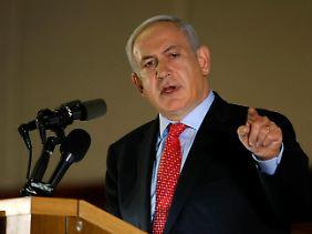 Ministerpräsident Netanjahu warnt, niemand solle an Israels Stärke und Verteidigungsbereitschaft zweifeln.