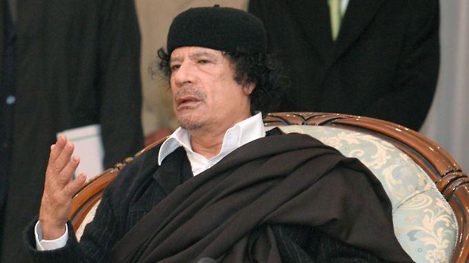 Muammar al-Gaddafi regiert seit 1969 Libyen.