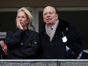 ...Seite an Seite mit Tochter Elizabeth. Wird der Tycoon den Stab bald weiterreichen?
