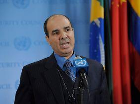 Dabbashi spricht vor dem Sicherheitsrat von Völkermord in seinem Land.
