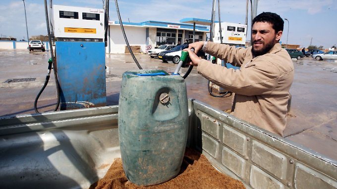 Die Ölexporte Libyens sind gestoppt, ...