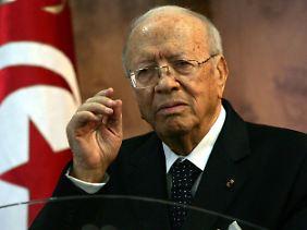 Tunesiens Ministerpräsident Essebsi.