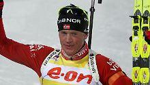 Sieger über die 20 Kilometer: Tarjei Boe aus Norwegen.