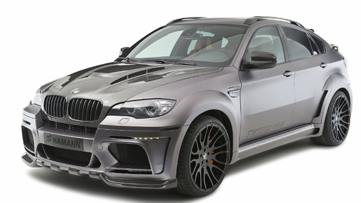 tycoon evo m auf basis des bmw x6 m hamann legt einen drauf n. Black Bedroom Furniture Sets. Home Design Ideas