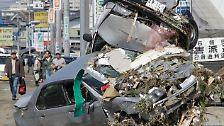 Industrieland in größter Not: Japan: verwüstet, verzweifelt, verstrahlt
