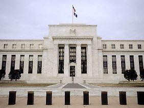 Das Hauptgebäude der Federal Reserve in Washington: Hier tagt der Offenmarktausschuss.