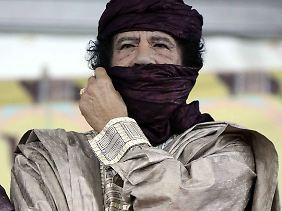 Gaddafis psychischer Gesundheitszustand wird von zahlreichen Beobachtern als angeschlagen eingeschätzt.