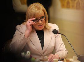 Vertritt die Interessen der Slowakei: Regierungschefin Iveta Radicova.