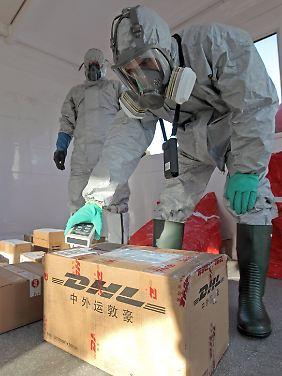 In der ganzen Welt werden Lieferungen aus Japan auf erhöhte Strahlenwerte überprüft.
