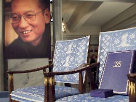 Als Liu Xiaobo im Dezember 2010 den Friedensnobelpreis erhält, bleibt sein Platz leer.