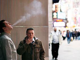 New York schaltet im Kampf gegen das Rauchen einen Gang hoch.