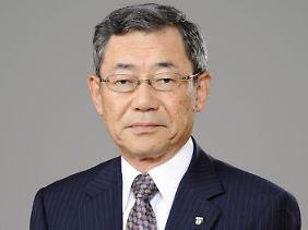 Auch Tepco-Chef Shimizu setzt das Unglück zu.