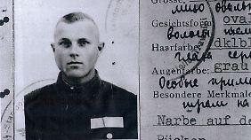 Dienstausweis von Demjanjuk.