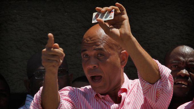 Michel Martelly will Haiti komplett umkrempeln.