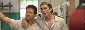 Brüder - und Konkurrenten: Micky (Wahlberg) und Dicky (Bale).