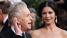 Seite an Seite: Michael Douglas und Catherine Zeta-Jones bei den Golden Globe Awards in Beverly Hills im Januar 2011.