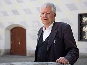 Michael Petzet, Präsident von Icomos, in München.