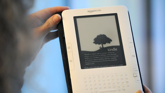 Kindle-Start in Deutschland: Amazon eröffnet E-Book-Store