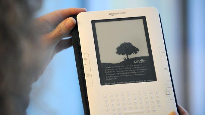 Kindle-Start in Deutschland: Amazon eröffnet E-Book-Store