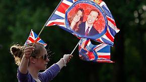 London steht Kopf: Tausende feiern britische Traumhochzeit