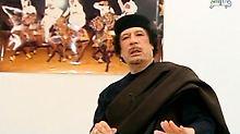Gaddafis wirre Botschaften: Bislang hielt er sich an keine seiner Versprechen.