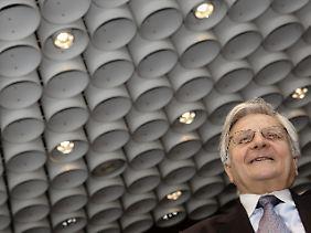 Hat bald ein paar Sorgen weniger: EZB-Chef Jean-Claude Trichet scheidet im Herbst aus dem Amt.