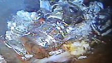 Der Tauchroboter lieferte klare Bilder vom Meeresgrund.