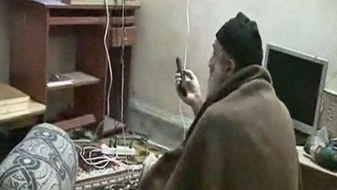 Neue Bilder von bin Laden: Videos zeigen alternden Terrorchef
