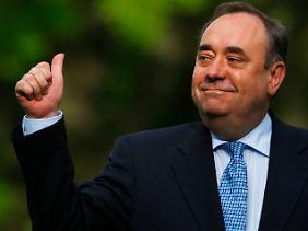 Scharfe Töne aus Schottland: Alex Salmond attackiert den Premier.