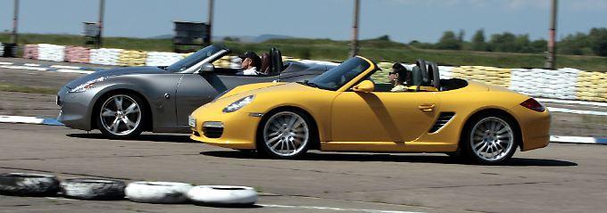 Nissan vor Porsche: Der 370 Z war vergangenes Jahr in Deutschland der Sportwagen mit der höchsten Zuwachsrate bei den Neuzulassungen.