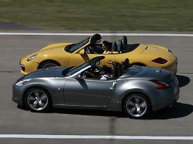 Einen eindeutigen Sieger gibt es bei diesem Vergleich nicht: Fahrdynamisch hat der Nissan gegenüber dem Porsche das Nachsehen, aber er bietet reichlich Ausstattung für deutlich weniger Geld.