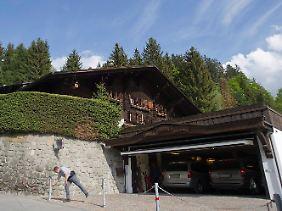 In diesem Haus in Gstaad wurde Gunter Sachs aufgefunden.