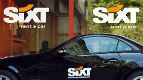 Sixt hat nicht nur eine gute Werbeagentur, sondern offenbar auch guten Service.