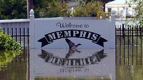 Mississippi-Hochwasser: Memphis teilweise unter Wasser