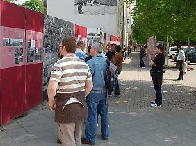 Gedenkstätte Berliner Mauer an der Bernauer Straße.