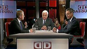 Frank Schäffler und Peter Bofinger: Griechen-Pleite & die Kosten