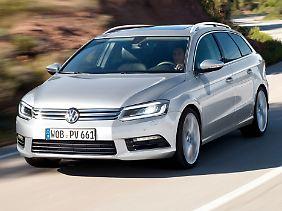 Der neue VW Passat geht 2014 an den Start.