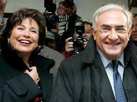 Ein Bild aus besseren Tagen: Das Ehepaar im November 2006.