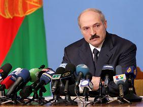 """""""Letzter Dikator Europas""""? Der weißrussische Staatschef Lukaschenko"""