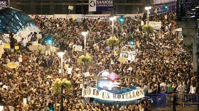 Zehntausende protestieren schon seit Tagen.