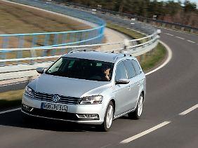 Klassischer Firmenwagen: Neun von zehn Passat Variant werden in Deutschland gewerblich zugelassen.