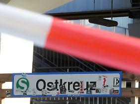 Nichts fährt mehr: Am Ostkreuz liegt die Ursache für den Zugausfall.