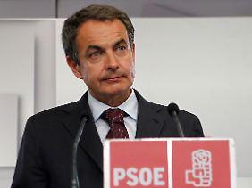 Spaniens Ministerpräsident José Luis Rodríguez Zapatero.