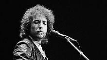Dylan bei eine Konzert 1978.