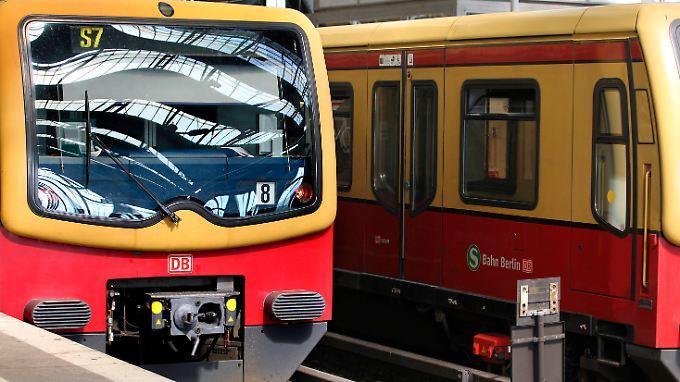 Der Bahnverkehr in der Hauptstadt wurde massiv behindert.